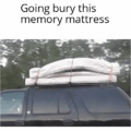 The mattress remembers too much