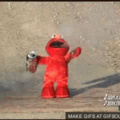 This is what happens to those who disobey elmo