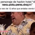 Si lo piensan bien Hazbin Hotel es un episodio de bob esponja con groserías