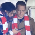 Polish guy brings his girlfriend to important match in his country