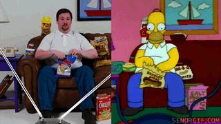 Simpson vs réalité