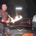 Flame Blade +5 de dano por fogo (tá pegando fogo, bicho)