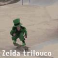 ...... Zelda trilouco andando de patins ao ir atrás da princesa e se fode Tetraloucamente