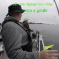 O que acontece quando o jet ski do PROERD avista canoeiros usando maconha e tentando pescar o peixe gay ameaçado de extinção.