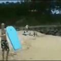 """vamos na praia""ele disseram ""vai ser legal"" disseram"
