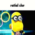 ratial slur
