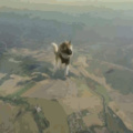 When you jump out of the plane in PUBG