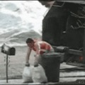 Bad Day At Work - He works hard to keep your corner clean.