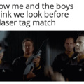 Laser tag!