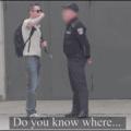 Por jugarle al verga al oficial xD Bang!