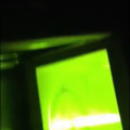 Microwaved glow stick fail