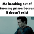 Wyoming is not real