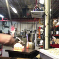 Making Instant Coffee in a Glass Shop